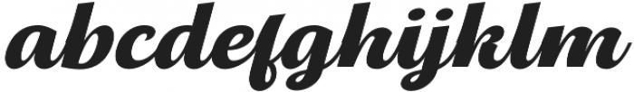 Thephir Semi Bold Slanted otf (600) Font LOWERCASE