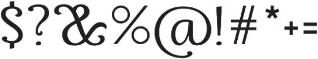 Thephir Variable Light otf (300) Font OTHER CHARS