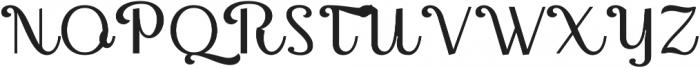 Thephir Variable Light otf (300) Font UPPERCASE