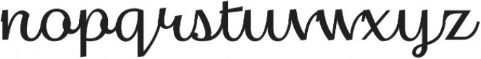 Thephir Variable Light otf (300) Font LOWERCASE