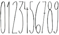 Therevel Thin otf (100) Font OTHER CHARS