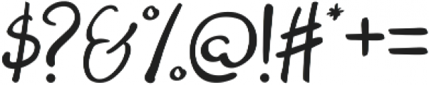Theseus ttf (400) Font OTHER CHARS