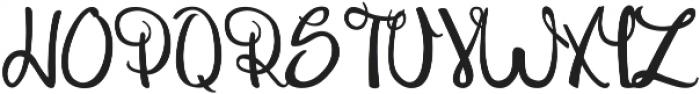 Theseus ttf (400) Font UPPERCASE