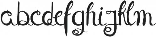 Theseus ttf (400) Font LOWERCASE