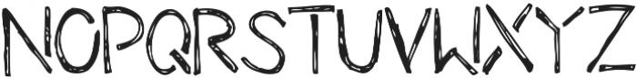 Theydon otf (400) Font UPPERCASE