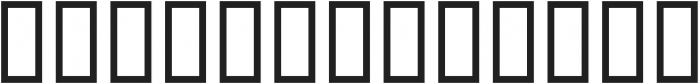 ThibautScript otf (400) Font LOWERCASE