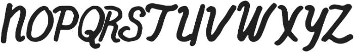 ThinkHappy Regular otf (100) Font UPPERCASE
