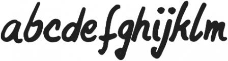 ThinkHappy Regular otf (100) Font LOWERCASE