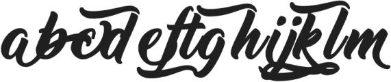 Thinking Of Betty Alternates ttf (100) Font LOWERCASE