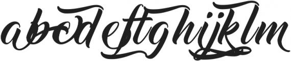 Thinking Of Betty Light Alt ttf (100) Font LOWERCASE