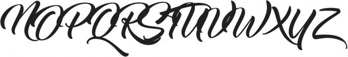 Thinking Of Betty Light otf (100) Font UPPERCASE