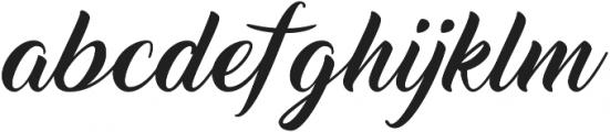 Thinking Of Betty Light otf (100) Font LOWERCASE