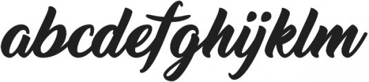 Thinking Of Betty otf (100) Font LOWERCASE