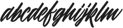 Thinkloud Alternated ttf (100) Font LOWERCASE