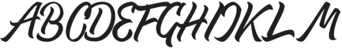 Thipe otf (400) Font UPPERCASE