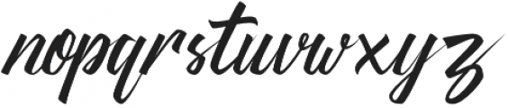 Thipe otf (400) Font LOWERCASE