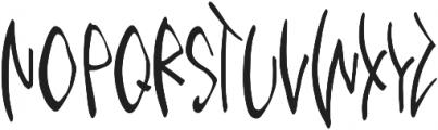 Third Storey Marker otf (400) Font UPPERCASE