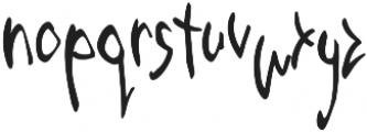 Third Storey Marker otf (400) Font LOWERCASE