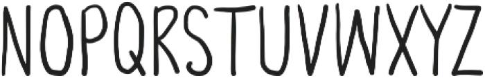 Third Storey otf (400) Font LOWERCASE