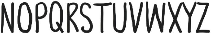 Third Storey otf (700) Font LOWERCASE