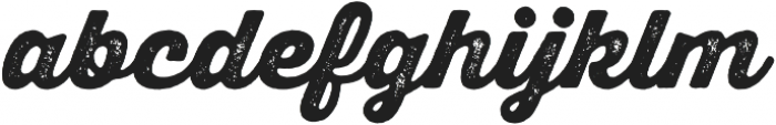 Thirsty Rough Black One otf (900) Font LOWERCASE