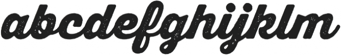 Thirsty Rough Black otf (900) Font LOWERCASE