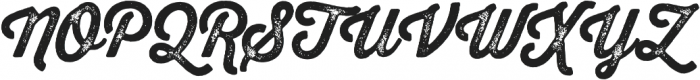 Thirsty Rough Bold Two otf (700) Font UPPERCASE