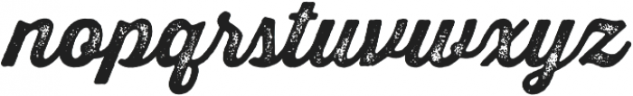 Thirsty Rough Bold Two otf (700) Font LOWERCASE