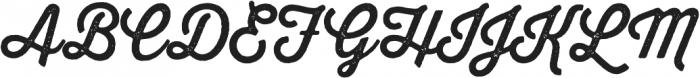 Thirsty Rough otf (400) Font UPPERCASE
