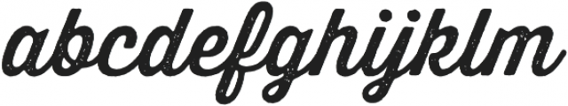 Thirsty Rough otf (400) Font LOWERCASE