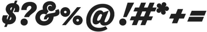 Thirsty Script Black otf (900) Font OTHER CHARS