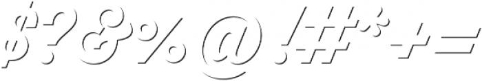 Thirsty Script Bold Shd otf (700) Font OTHER CHARS
