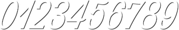 Thirsty Script Light Shd otf (300) Font OTHER CHARS