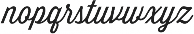 Thirsty Script Light otf (300) Font LOWERCASE