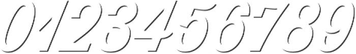 Thirsty Script Medium Shd otf (500) Font OTHER CHARS
