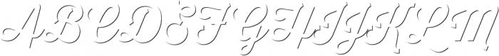 Thirsty Script Medium Shd otf (500) Font UPPERCASE