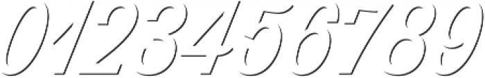 Thirsty Script Regular Shd otf (400) Font OTHER CHARS