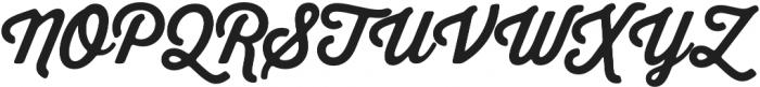 Thirsty Soft Bold otf (700) Font UPPERCASE