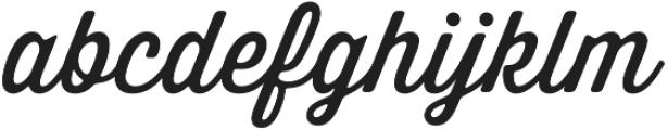 Thirsty Soft Regular otf (400) Font LOWERCASE