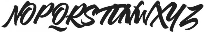 Thirthy otf (400) Font UPPERCASE