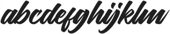 Thirthy otf (400) Font LOWERCASE
