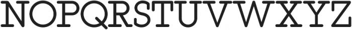 This Serif otf (400) Font UPPERCASE