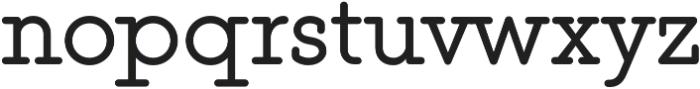 This Serif otf (400) Font LOWERCASE