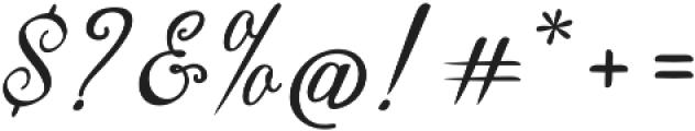 Thoorma otf (400) Font OTHER CHARS