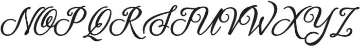 Thoorma otf (400) Font UPPERCASE