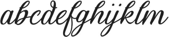 Thoorma otf (400) Font LOWERCASE