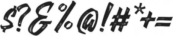 Thorky Rough otf (400) Font OTHER CHARS