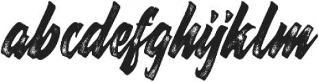 Thorky Rough otf (400) Font LOWERCASE