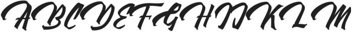 Thorky otf (400) Font UPPERCASE