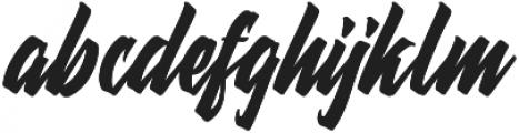 Thorky otf (400) Font LOWERCASE